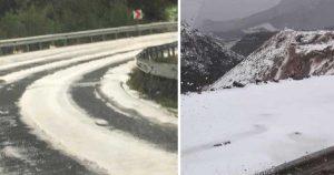 Noel'de Londra'ya yağmayan kar, Kıbrıs'a yağdı