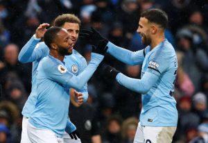 Manchester City, Everton'ı 3-1 ile geçti