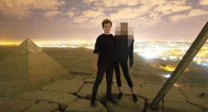 Piramidin tepesinde cinsel ilişkiye girdiği iddia edilen fotoğrafçı konuştu