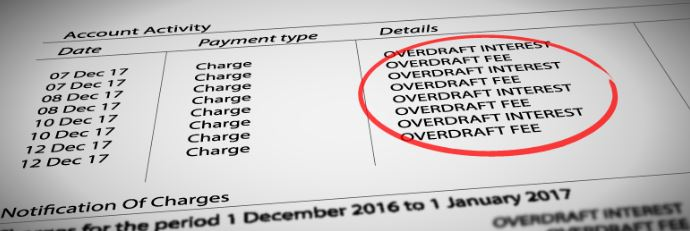 Calls to ban excessive overdraft fees