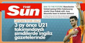 İngiliz basını Ozan Kabak'ı ManU'ya yazdı