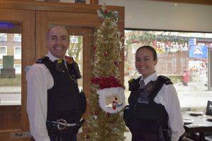 Christmas breakfast held by Stoke Newington Police