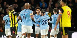 Manchester City, Watford'u evinde devirdi: 2-1