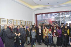 Metin Şenergüç anısına sergi açıldı