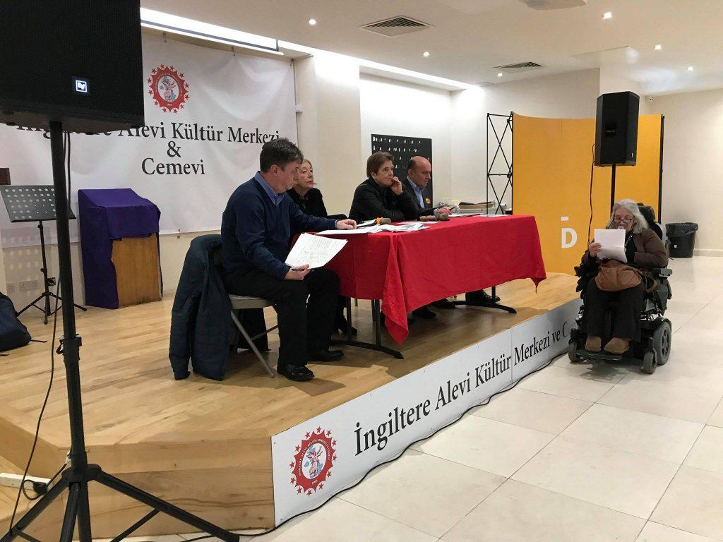 Alevi Kültür Merkezi ve Cemevi'nde 'universal credit' halk toplantısı gerçekleşti