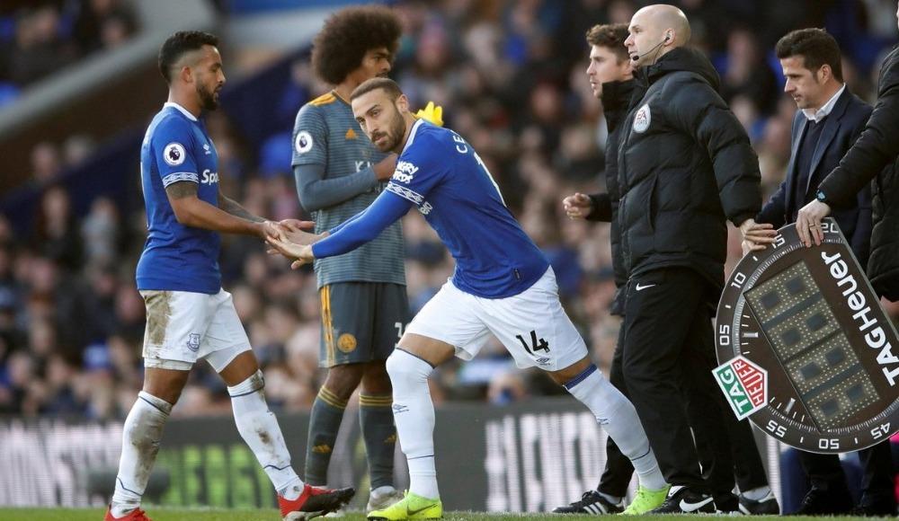 Cenk'li Everton, sahasında mağlup