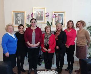 Londra Yardım Melekleri, Tuncalı'yı ziyaret etti