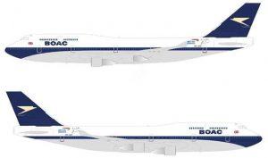British Airways'ten 100'üncü yıla özel 'BOAC' boyaması