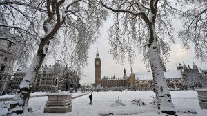 Londra'ya soğuk hava dalgası ve kar geliyor