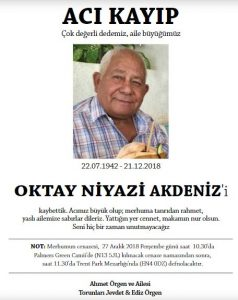 Oktay Niyazi Akdeniz