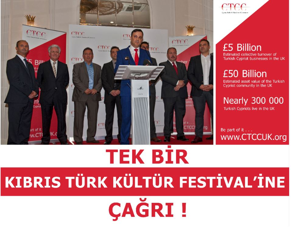 """CTCC: """"Only one 'Turkish Cypriot Cultural Festival' should be held"""""""