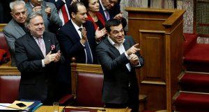Yunan parlamentosu, Makedonya isim anlaşmasını onayladı