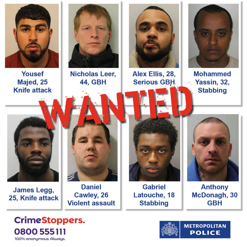 London's most wanted