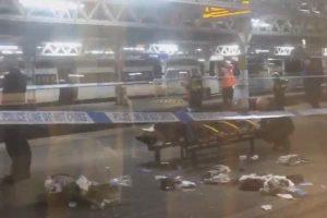 Teenager shot on Barking station platform