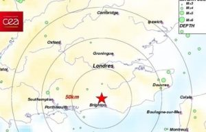 3.7 earthquake recorded at Gatwich Airport