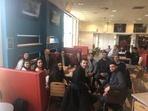 Büyükelçiden Kıbrıslı türk öğrencilere ziyaret