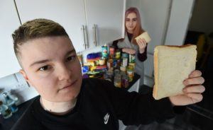 Pregnant couple struggling on Universal Credit