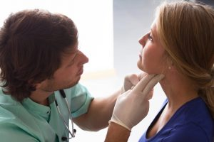 Persistent sore throat could be a sign of cancer