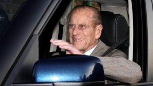 Prens Philip trafik kazası nedeniyle soruşturulmayacak