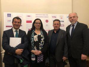 Kıbrıslı Türk iş insanlarına ve Avrupalı Türk Markalar Birliği'ne yönelik sosyal toplantı