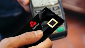 NatWest trailing fingerprint card machine