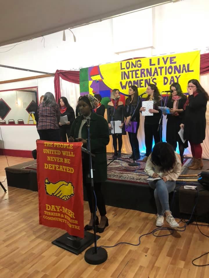 DAY-MER 'Dünya Emekçi Kadınlar Günü'nü kutladı