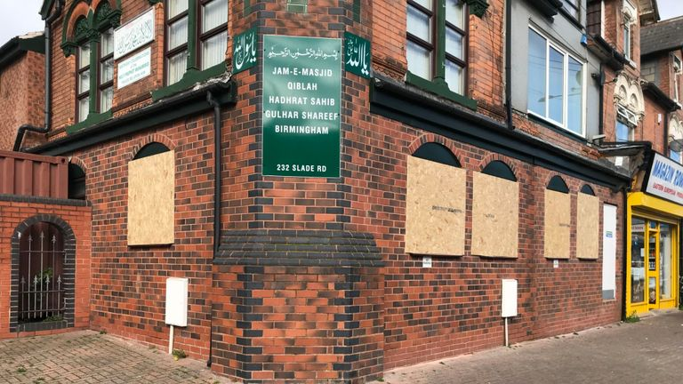 Arrests after Birmingham mosque attacks