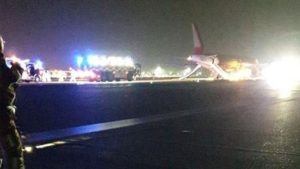 """Flights grounded after """"explosion"""" at Stansted Airport"""
