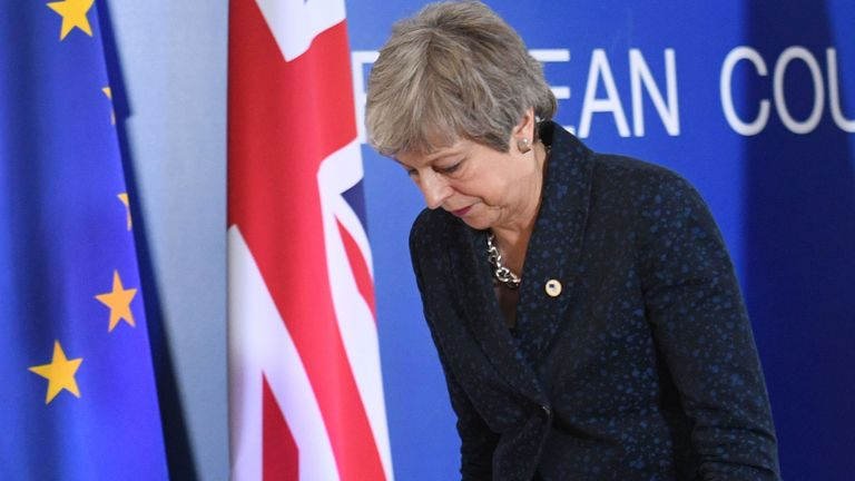 MPs reject May's plan again