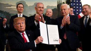 Trump, İsrail'in Golan'da hakimiyetini tanıdı