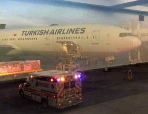 THY uçuşunda 30 kişi yaralandı