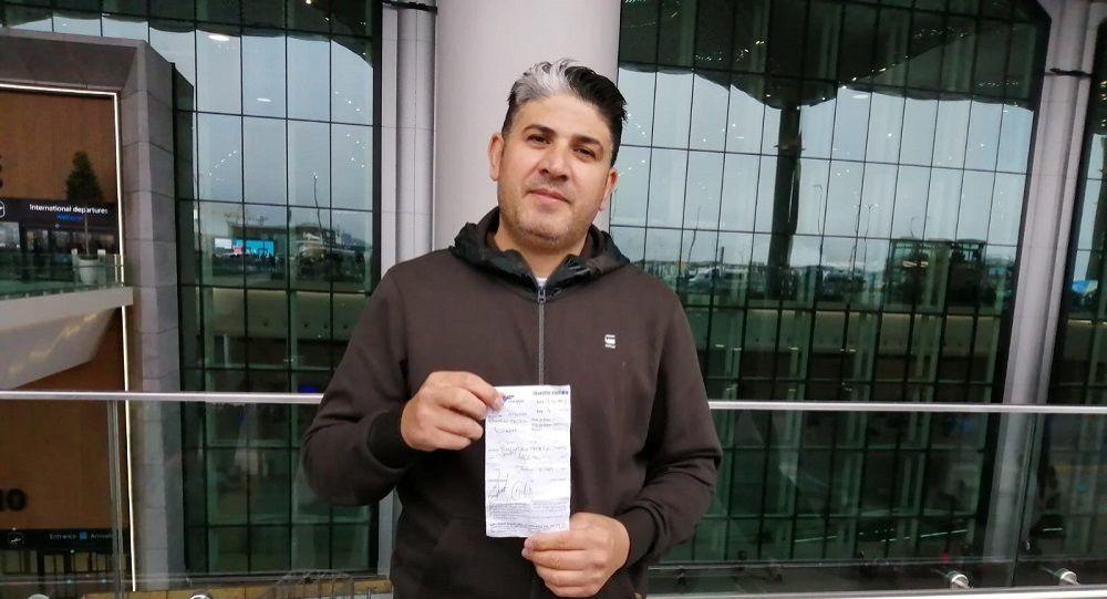 İstanbul Havalimanı'ndan Aksaray'a 310 AU Doları ücret ödedi