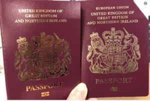 """Birleşik Krallık pasaportlarından """"Avrupa Birliği"""" ifadesi kaldırıldı"""