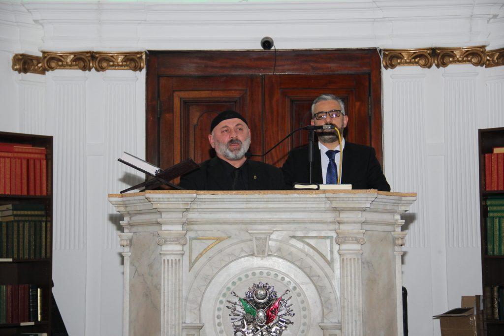 Mevlit ceremony for Denktaş and Küçük in London