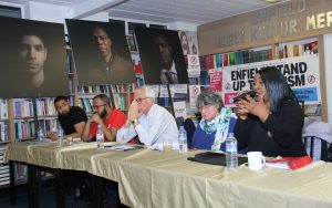 BAF 'No to Confrontation and Racism' panel