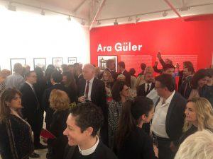 Ara Gülerexhibition and panel on show