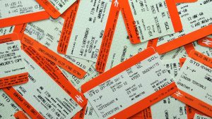 Rail users been offered paperless tickets