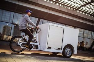 Hospitals to trial cargo bike transporting blood samples