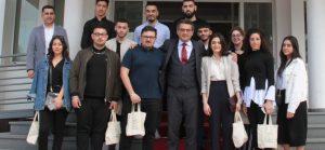 Erhürman, Kıbrıs Türk Gençlik Birliği İngiltere heyetini kabul etti