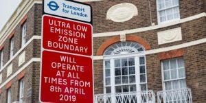 TfL makes £1.54m a week from  ULEZ