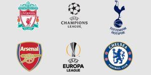İngiliz kulüpleri Avrupa Kupaları'nda tarih yazdı