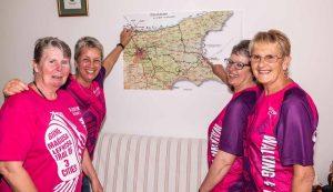 200 kadın için 200 km yürüyecekler