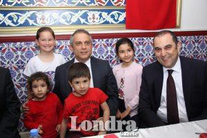 İngiltere Türk Diyanet Vakfı'ndan iftar yemeği