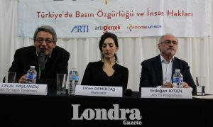 """Artı Meetings"" panel on Turkey's press freedom and human rights"