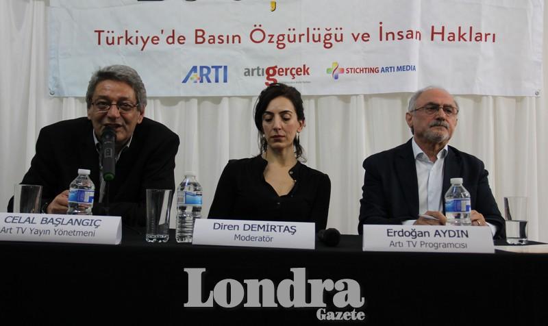 """""""Artı Buluşmaları"""" ile Türkiye'de Basın Özgürlüğü ve İnsan Hakları paneli"""