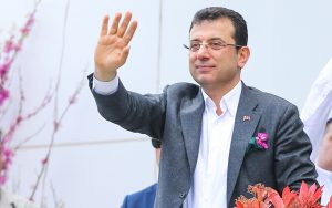 Ekrem İmamoğlu is in London