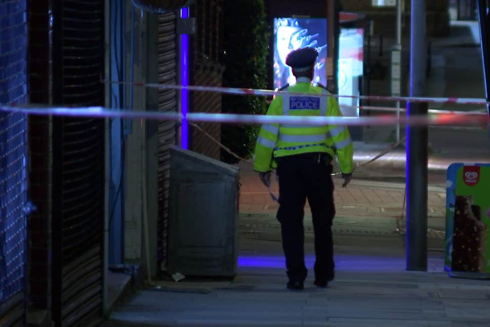 Man stabbed in the neck in Palmers Green