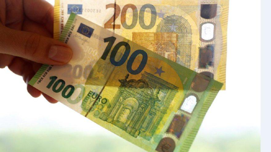 Yeni 100 ve 200 euro'luk banknotlar tedavüle girdi