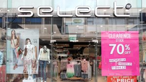 Fashion chain Select goes into administration
