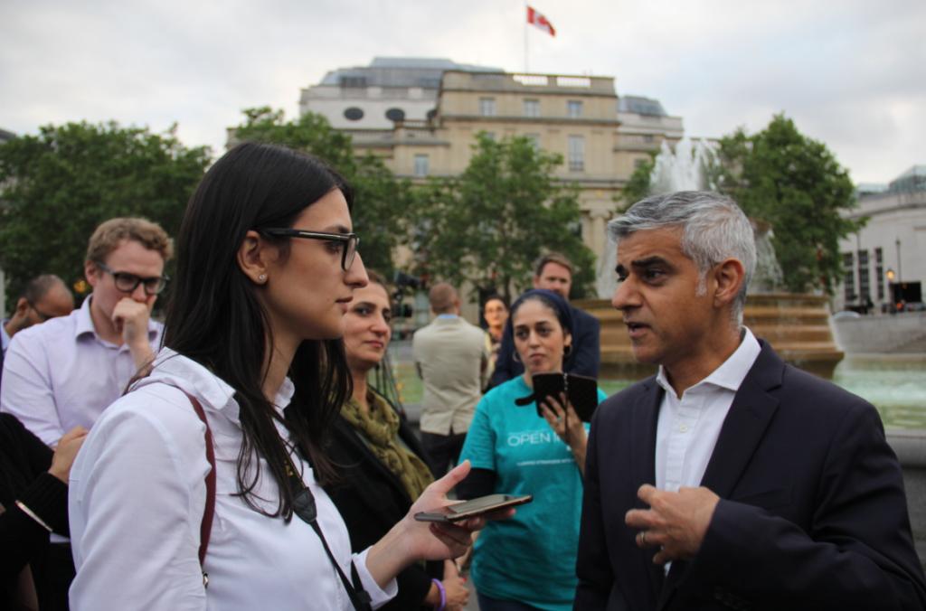 Sadiq Khan, koronavirüs aşısı hakkında Londra Gazete'ye konuştu